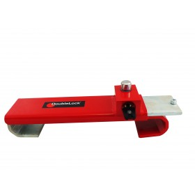 DoubleLock Container Lock HEAVY RED KA