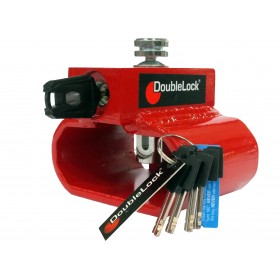 DoubleLock aanhangerslot Triangle Lock RED KA