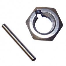 DoubleLock Sicherungsbolzen + Splint + Kontermutter M12