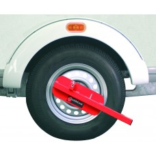 DoubleLock Wheel Clamp Buffalo RED SCM