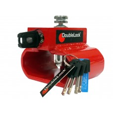 DoubleLock Trailer Lock Triangle Lock RED KA