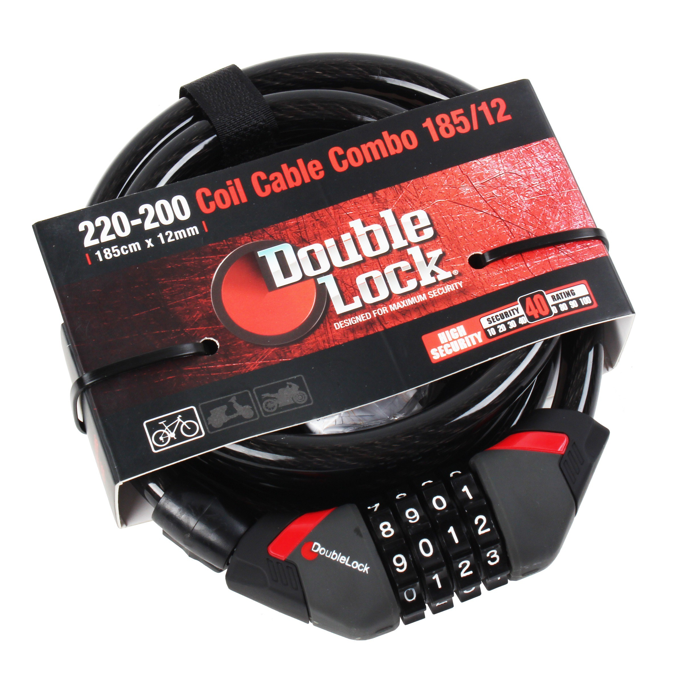 Coil Cable Combo 240/12
