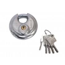 DoubleLock Discus padlock (5 keys)